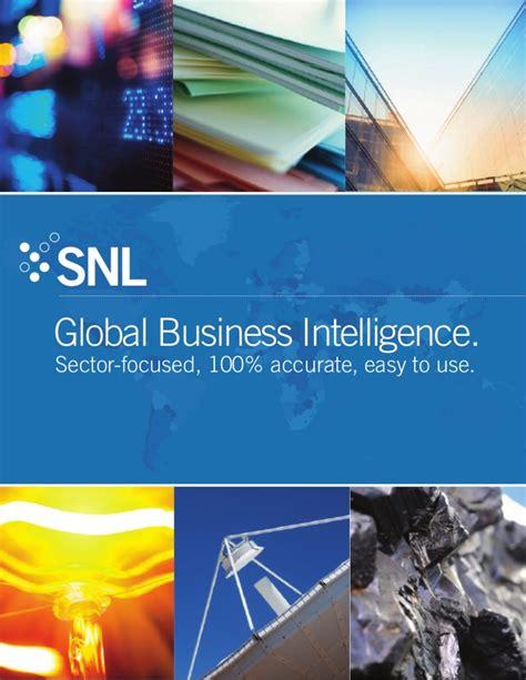 Ie International Mba Brochure by Snl Financial Corporate Brochure
