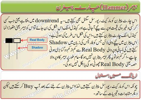 candlestick pattern in urdu hammer candlestick chart pattern urdu forex guide