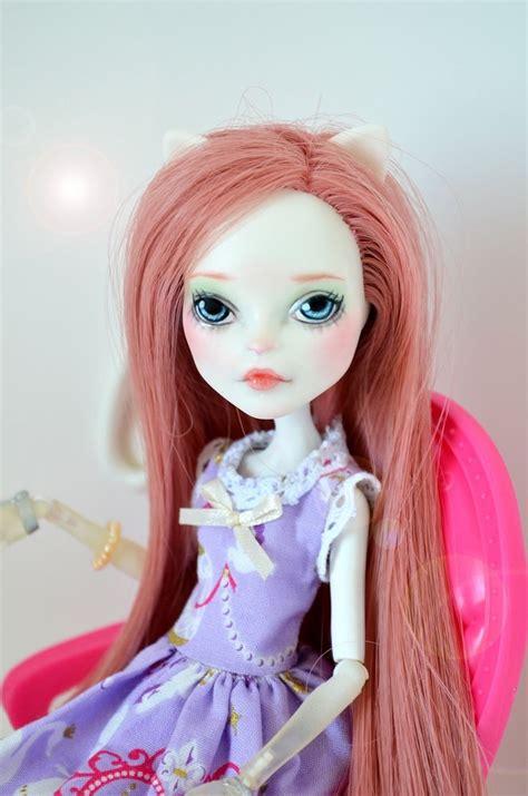 doll repaint danielle demew ooak high doll repaint catrine
