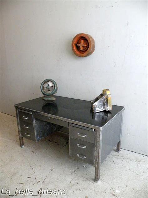 vintage metal desk for sale vintage industrial large steel desk 1940s must see for