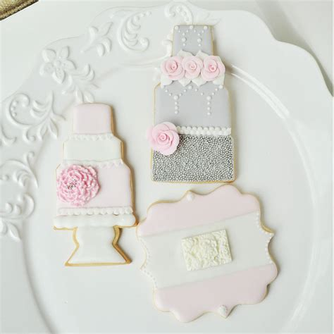 Wedding Cake Cookies by Wedding Cake Cookies Plaque Cookie Cookie Connection