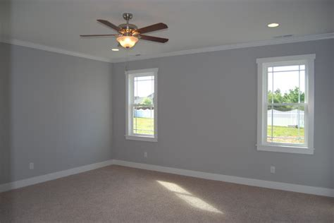 Pebble gray paint beach style bedroom wilmington by emerald city homes inc