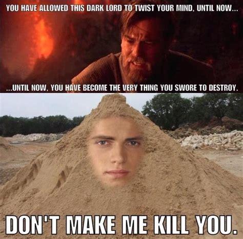 Sand Meme - i lied star wars battlefront