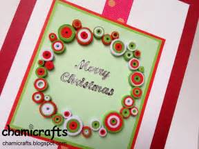 chami crafts handmade greeting cards december 2012