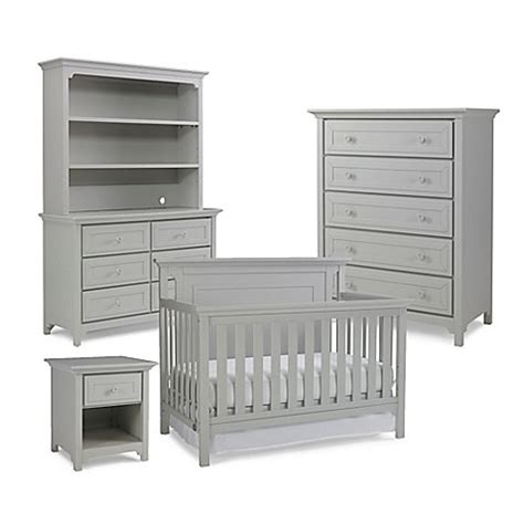 misty grey baby dresser ti amo nursery furniture collection with carino 4 in 1