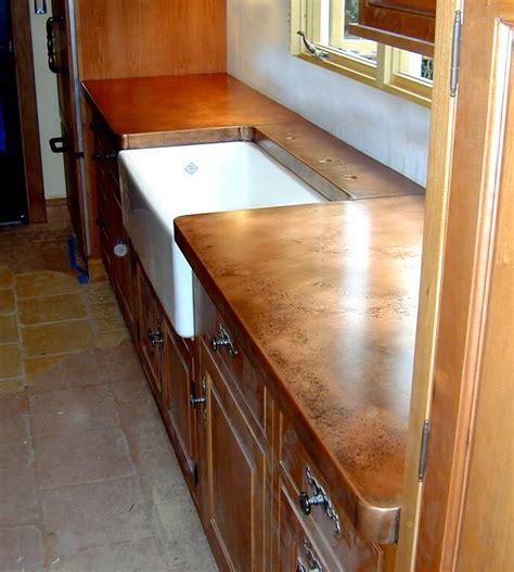 Copper Countertop by Copper Countertops Custom