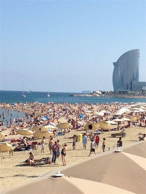 barcelona beach spain beaches barcelona beach spain pinterest