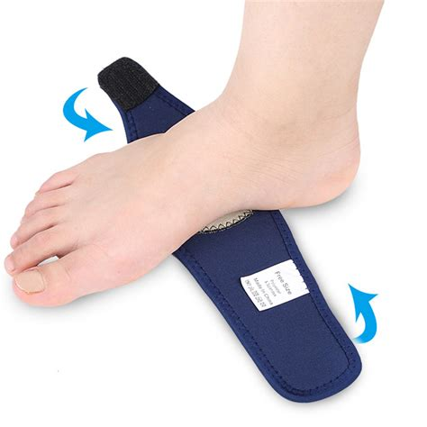 Detox Foot Pads Plantar Fasciitis by 2 Pcs Flat Orthotic Plantar Fasciitis Arch Support