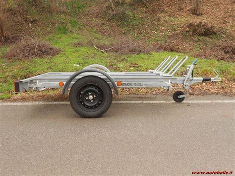 carrello porta auto usato vendesi vendo vendo rimorchio carrello motoveicoli 182579
