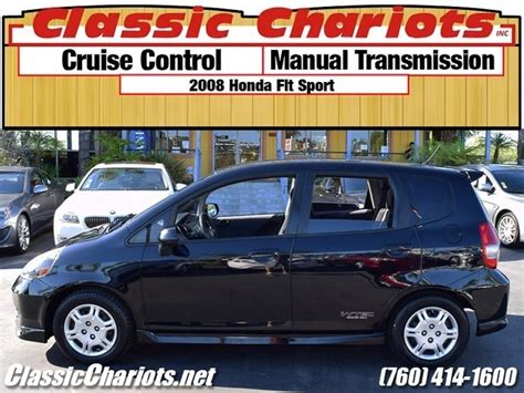 Sale Fit With Mp3 used car near me 2008 honda fit sport with cruise
