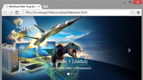 cara mudah membuat slider jquery arinadi nr blog sangat mudah cara membuat slide show