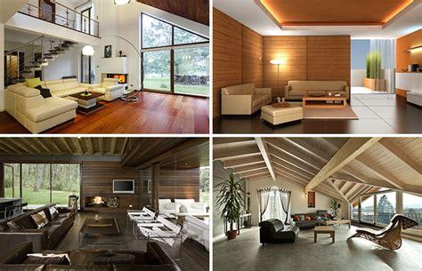 desain interior ruang tamu kayu desain interior rumah kayu jasa design interior rumah