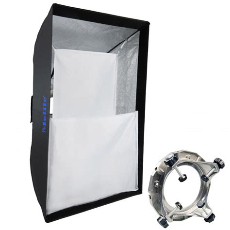 Tronic Softbox Universal 80 X 120 mettle standard softbox 80x120 cm mit universal adapter