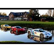 Supercars Walk On Water With Dealers Amazing Floating