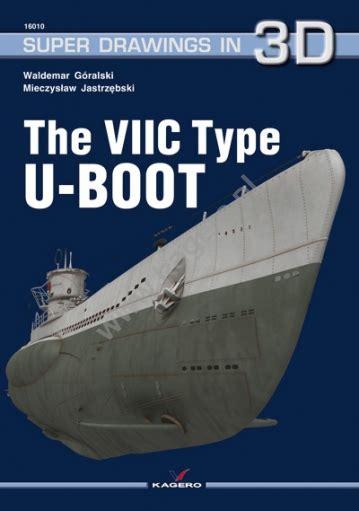 u boat brand 10 u boot vii c brand new edition kagero k3d 16010