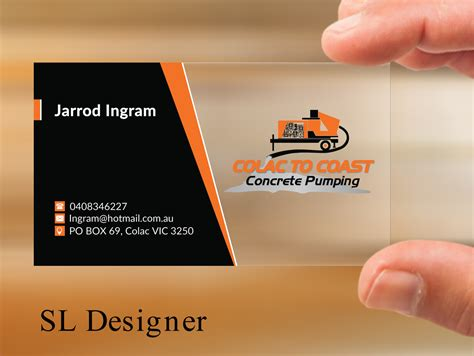 concrete business cards 65 bold serious concrete business card designs for a