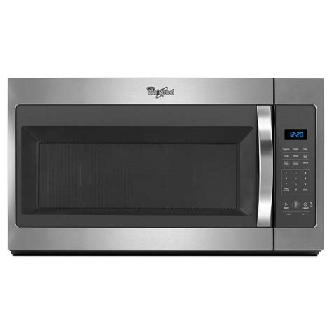 microwave store whirlpool over the range microwave stainless steel starting at 169 or less fs store
