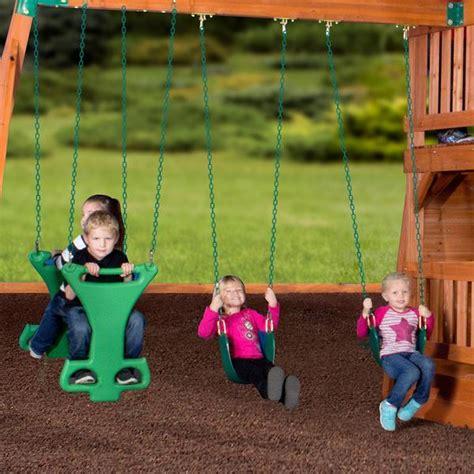 Backyard Discovery Liberty Ii Reviews Liberty Ii Wooden Swing Set Playsets Backyard Discovery