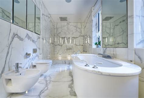 Statuario Marble Bathroom by The Gallery For Gt Statuario Marble Bathroom