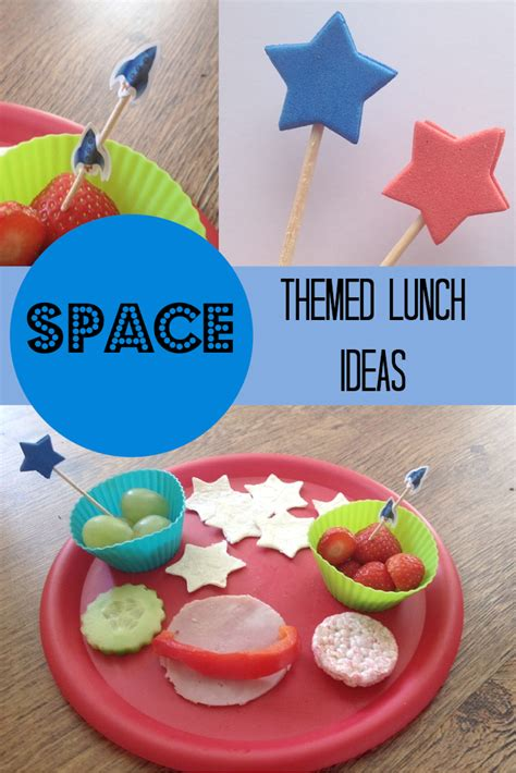 space themed lunch ideas for crafts on sea - Space Themed Decorations