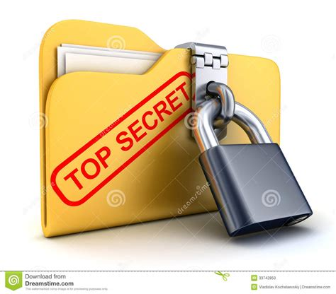 file top secret and lock stock photo image 33742850