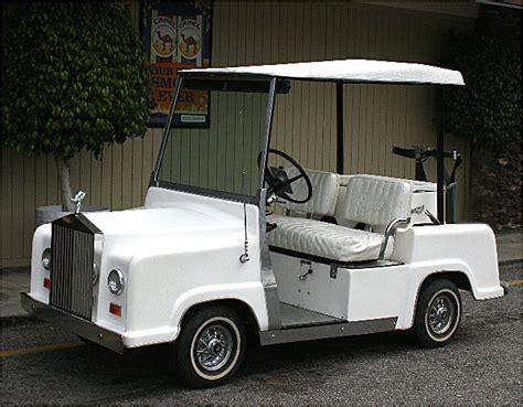 Rolls Royce Golf Cart by Rolls Royce Golf Cart Ezravalle S