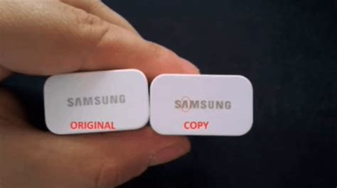Charger Original For Samsung original vs samsung charger how to differentiate