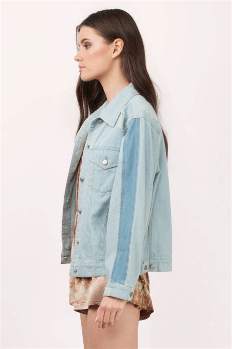 light wash denim jacket trendy light wash outerwear button up outerwear 60 00