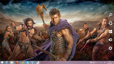 movie themes for windows 8 1 spartacus the movie theme for windows 7 and 8 8 1 ouo themes