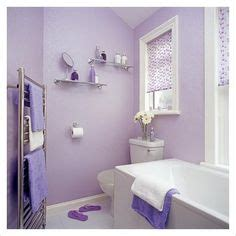 lavender bathroom paint another cute lavender bathroom i like the half white