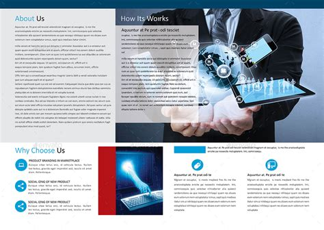 technology brochure templates technology brochure catalog template by akjoy graphicriver