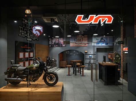 um motorcycle india opens  dealership  delhi