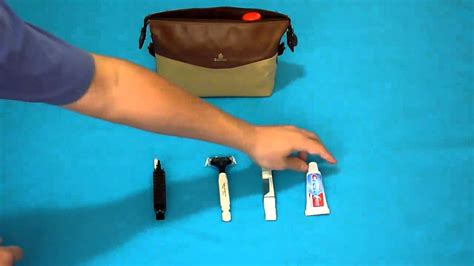 Tas Travel Kit Kosmetik Bvlgari From Emirates Bussiness Class emirates bvlgari leather look business toiletry bag and kit