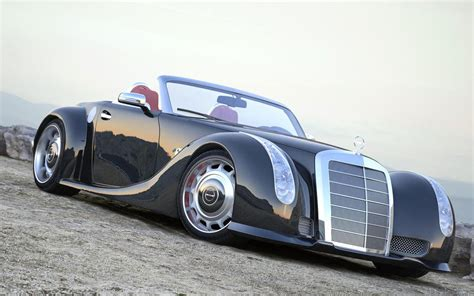 Handmade Mercedes - cars model 2013 2014 1955 mercedes 300 sc serves as