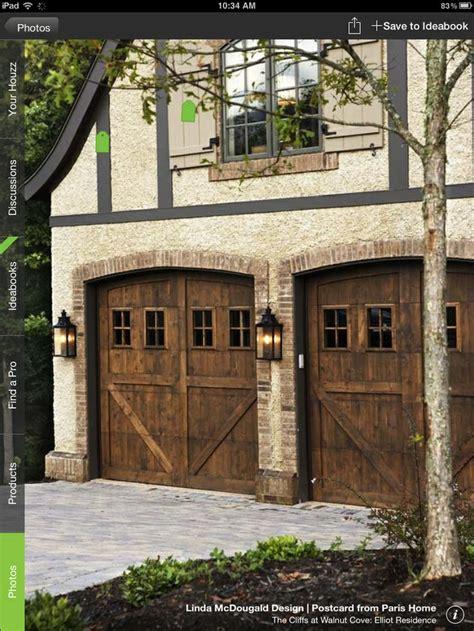 rustic garage doors for the home