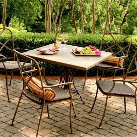 woodard patio furniture introducing woodard outdoor furniture for every style season