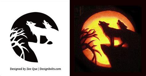 wolf pumpkin template pumpkin carving template wolf cyberuse