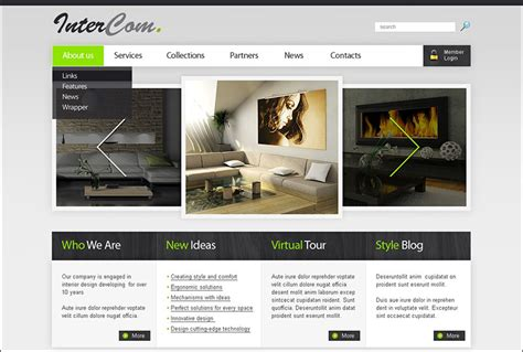 interior design drupal theme free premium templates