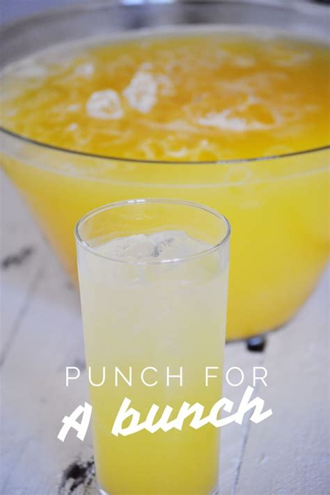 non alcoholic punch recipes for wedding showers how to make punch non alcoholic