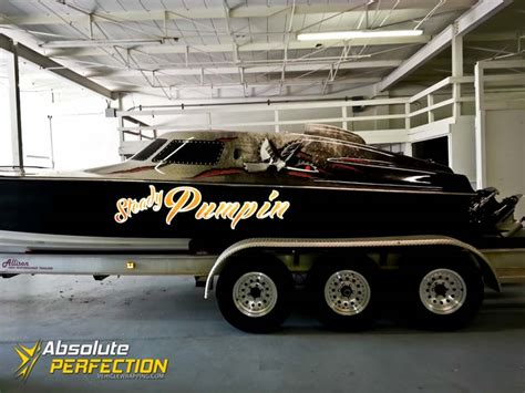 boat wraps maryland steady pumpin vinyl boat wrap ap vehicle wrapping