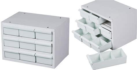 casier de rangement outils acier 9 tiroirs plastique