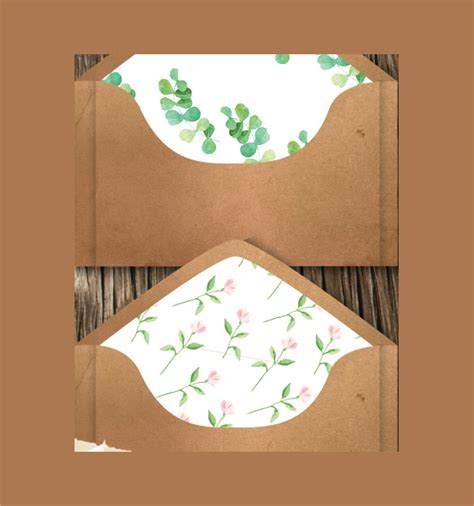 invitation card envelope template 10 wedding card envelope templates sles exles