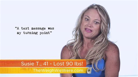 Weight Watchers Responds To Susie Orbach by The Desire To Be A Helped Susie Lose 90 Pounds
