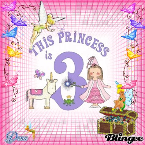 Happy 3rd Birthday Wishes To My Happy 3rd Birthday Bella Picture 89099472 Blingee Com