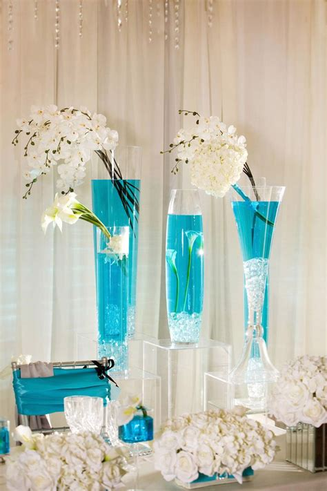 Ideas For Turquoise Table Ls Design 274 Best Images About Centerpieces On