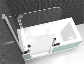badewanne de badewanne mit einstiegst 252 r und dusche hauptdesign