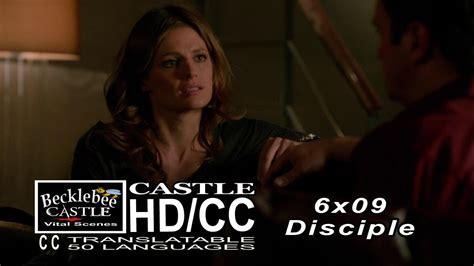 castle 6x09 promo disciple hd season 6 episode 9 youtube castle 6x09 end scene quot disciple quot castle and beckett hd cc