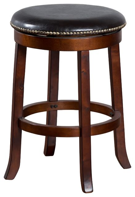 Cappuccino Bar Stools by Cappuccino Swivel Stool 24 Quot Traditional Bar Stools