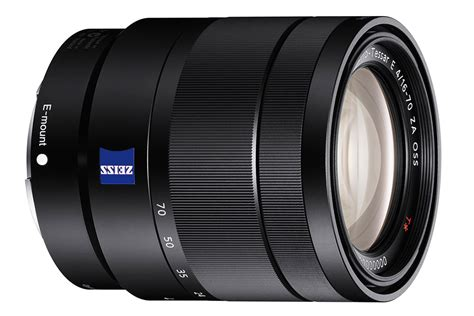 Sony Vario Tessar T E 16 70mm F 4 Za Oss Lens sony vario tessar t e 16 70mm f 4 za oss specifications