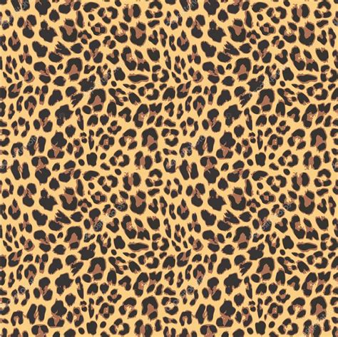 seamless pattern design illustrator leopard seamless pattern design vector illustration